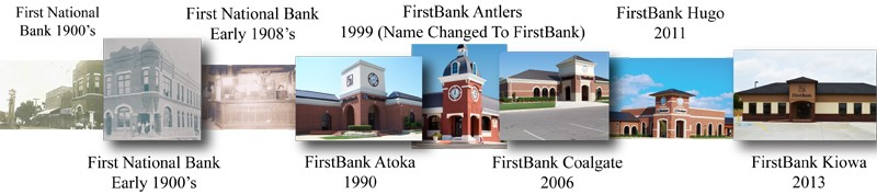 FirstBank Timeline