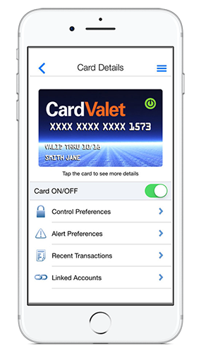 Card Valet iPhone